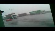 بارندگی شدید در بندرعباس