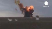 سقوط راکت چند ثانیه پس از پرتاب