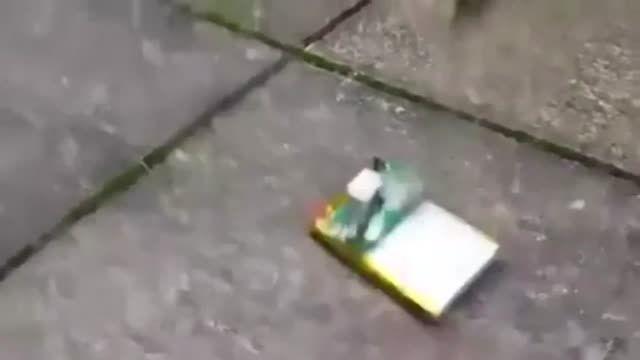 انفجار باطری موبایل