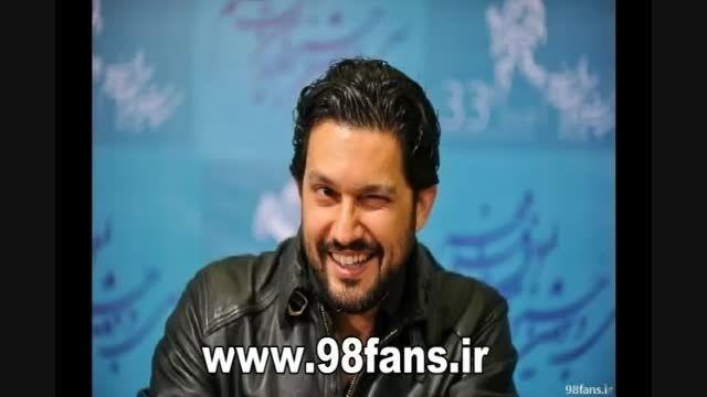 ابروریزی حامد بهداد در برنامه زنده (جشنواره فجر)
