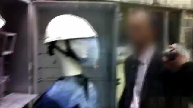 تست محافظت کلاه ایمنی در برابر جرقه یا آرک
