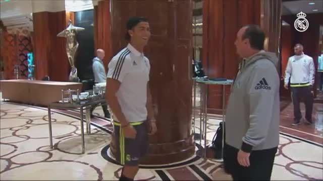 پیوستن کریستیانو رونالدو به تیم رئال مادرید در استرالیا