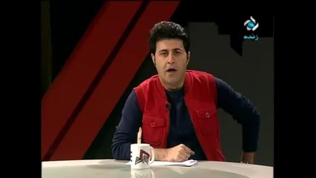سوتی مجری در برنامه زنده تلویزیون ایران