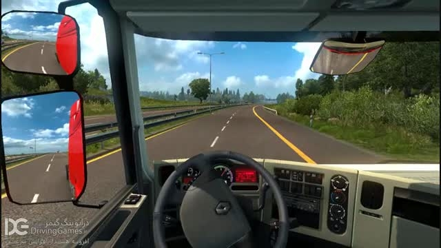 مد هشدار افزایش سرعت برای Euro Truck Simulator 2