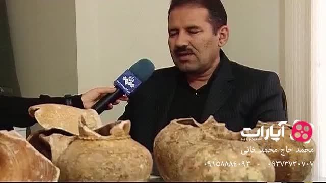 کشف 8 کوزه تاریخی در مسیر متروی اصفهان