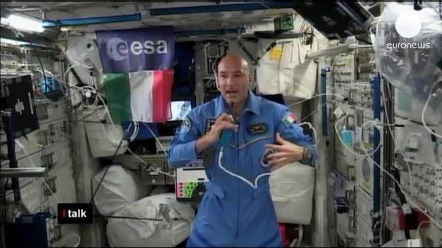 گفتگو با جوانترین فضانورد