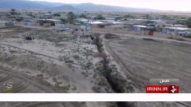 فاجعه فرو نشست زمین در روستای چاه دراز