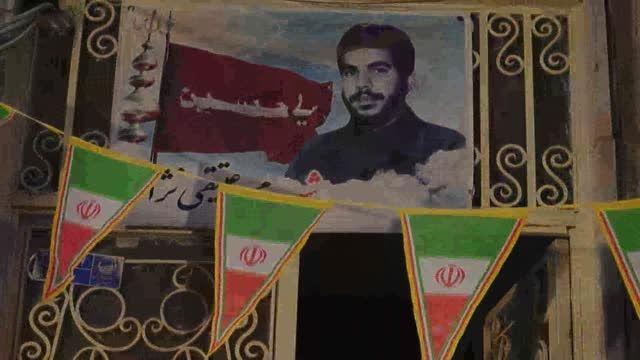 تجلیل از خانواده شهید عتیقی نژاد (در هفته دفاع مقدس)