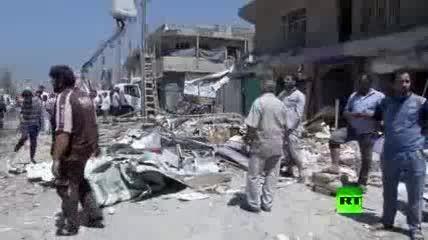49 کشته و زخمی در انفجار خودروهای بمبگذاری شده در بغداد