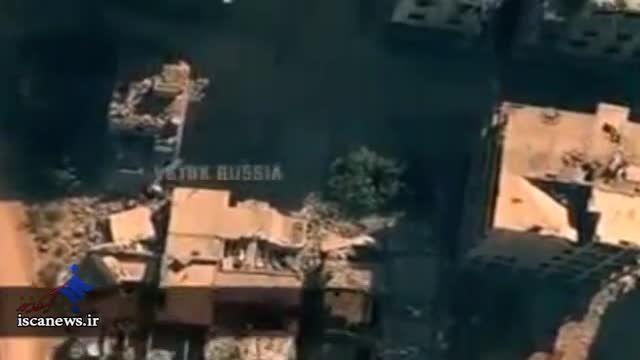 تصاویر ویژه پهپاد روسی از سوریه
