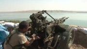 مواضع گروه دولت اسلامی در شمال عراق زیر بمباران آمریکا