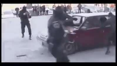عملیات خفن پلیس در دستگیری