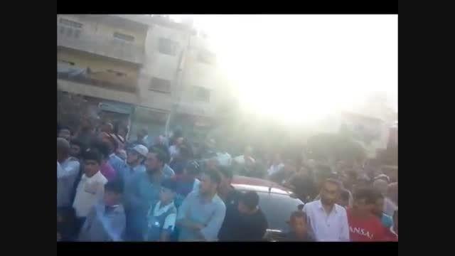 داعش و اعدام خیابانی با صلیب کشیدن مردم سوریه - سوریه