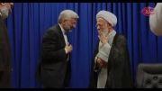 دیدار دکتر جلیلی با آیت الله جوادی آملی