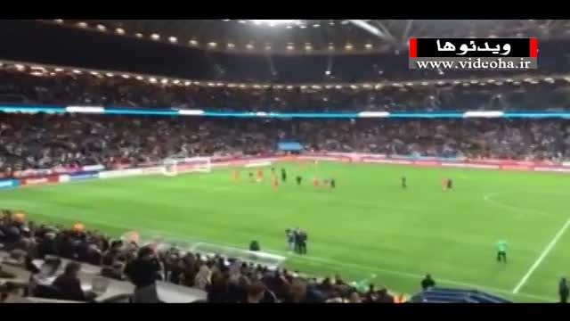 حمایت هواداران از تیم ملی بعد شکست مقابل سوئد
