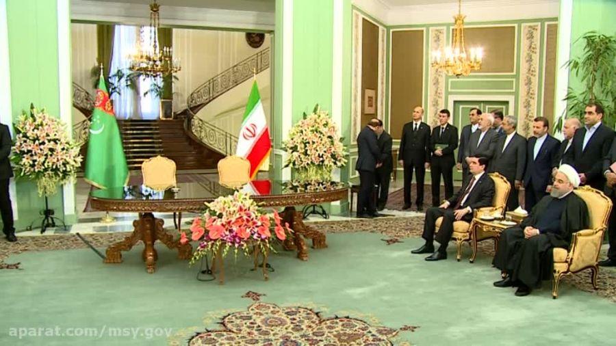 یادداشت تفاهم نامه همكاری های ایران و تركمنستان