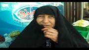 برادرزاده مفقود الاثر و دفاع از خون شهیدان علت راهپیمایی
