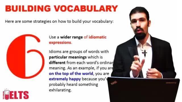 تقویت مهارت واژگان - اصطلاحات
