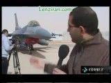 اولین خبر نگار ایرانی در یک پایگاه هوایی امریکای