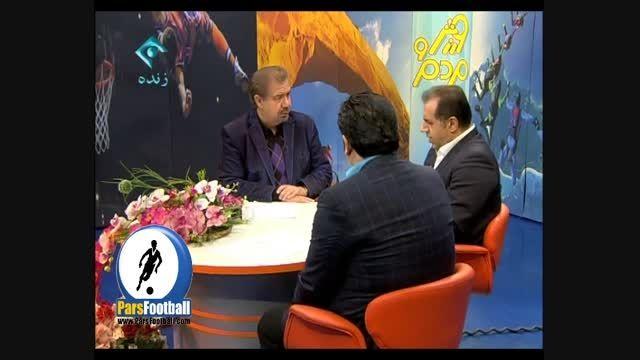 نظر علی خسروی در رابطه با اشتباهات داوری