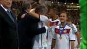 مراسم اهدای جام به تیم ملی آلمان/جام جهانی 2014/P.1/HD