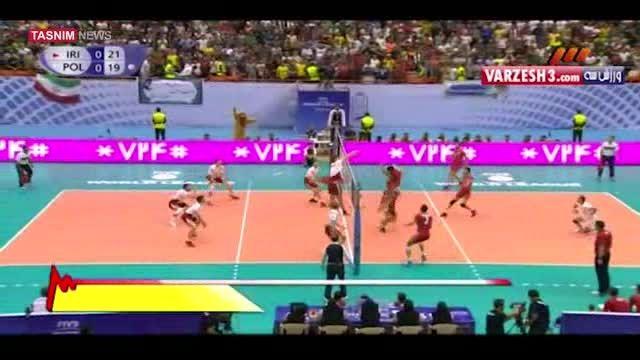 پیروزی ایران بر لهستان در ماراتن نیمه شب