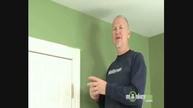روشی آسان برای پوشاندن ترک های روی دیوار