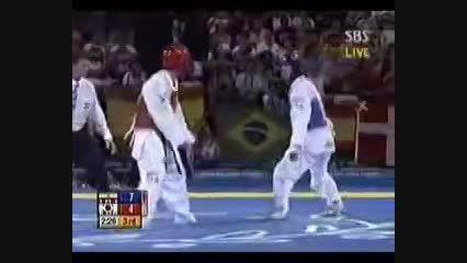 مسابقه ی  هادی ساعی المپیک2004 آتن