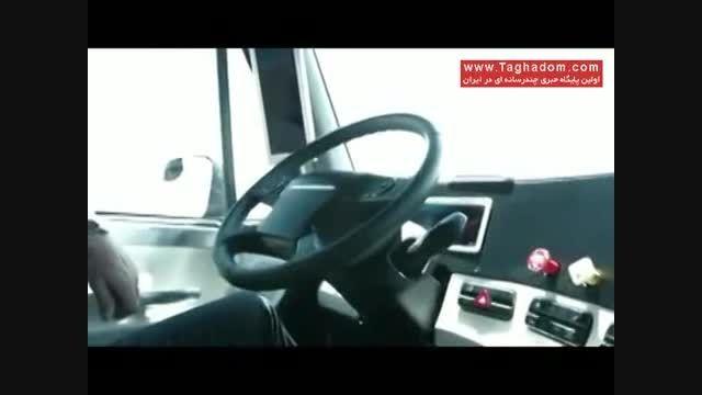 تست اولین کامیون هوشمند در آمریکا