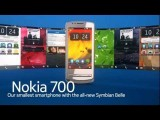 Nokia 700 with the new Symbian Belle