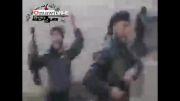 درگیری بسیار نزدیک تروریست ها با ارتش سوریه