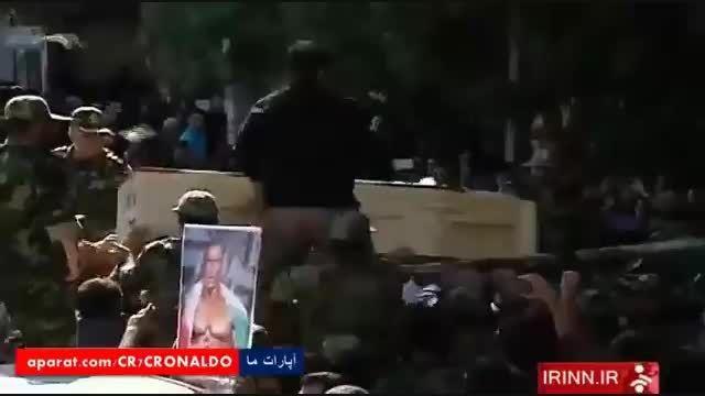 تشیع پیکر پهلوان بیت الله عباسپور - روحش شاد