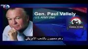 فیلم: همراهی ژنرال آمریکایی با عناصر مسلح در سوریه