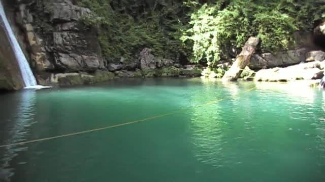 آبشار شیرگاه یک .استان گلستان