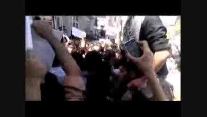 اعتراض دانشجویان به حضور هاشمی در دانشگاه امیرکبیر