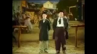 رقص کردی لورل و هاردی :))خخخخخ