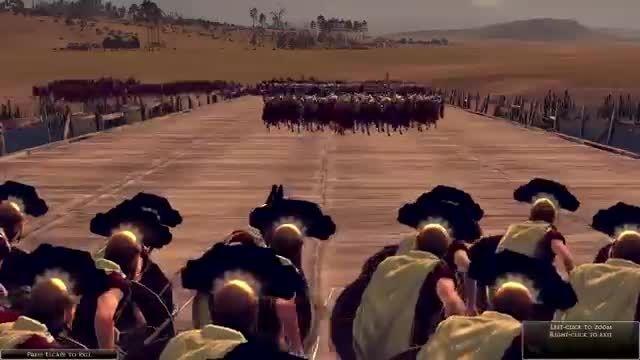 بازی Rome - سیصد سرباز spartan در برابر هزار سرباز رومی