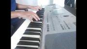 کیبورد نوازی آهنگ محمد فوائد - ارگ pa50