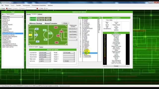 دانلود و آموزش ویدیویی کامل برنامه  Editor Alpha PES 20
