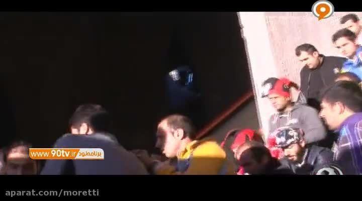 فیلم تلخ مرگ هوادار پرسپولیس در ورزشگاه تختی