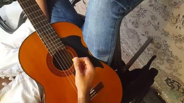 آموزش ریتم 4/4 گیتار