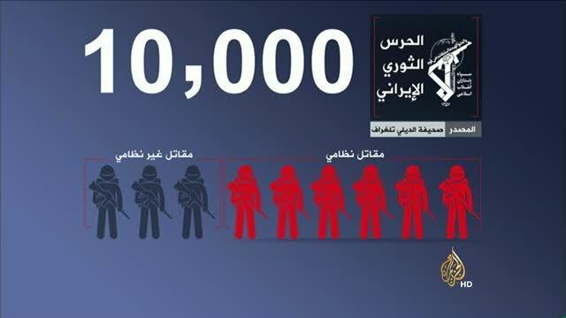 گزارش تصویری از موقعیت نیروها در جنگ سوریه