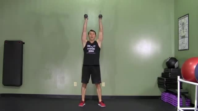 یک تمرین مناسب برای کاهش وزن و عضله سازی