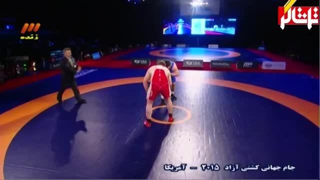 پیروزی مقتدرانه پرویز هادی مقابل آذربایجان -125 کیلوگرم