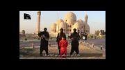 داعش یکی از نیروهای پیشمرگه را سر برید