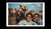 سلفی را با شتر تجربه کنید + تصاویر !!