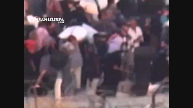 جلوگیری داعش از خروج مردم سوریه از مرز ترکیه