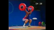 وزنه برداری حسین توکلی المپیک سیدنی 2000