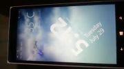 تصاویری از لاک اسکرین زنده به همراه آب و هوا - وینفون