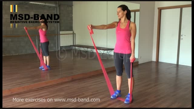 تمرین شماره 7- تقویت عضلات شانه